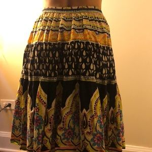 Harold's Skirts - Colorful Vintage Long skirt size M